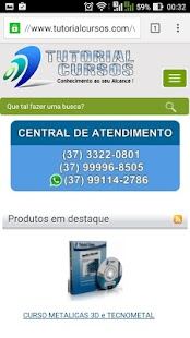 Tutorial Cursos- Cursos Online - screenshot