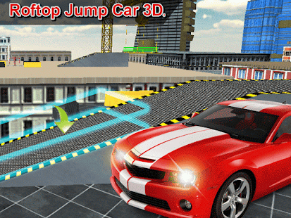 Roof Jump - Cars 3D - screenshot