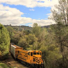 by Alan Cromer - Transportation Trains