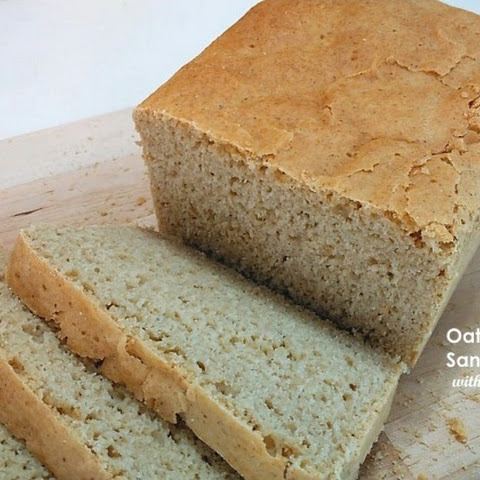Gluten-Free Oat-Buckwheat Sandwich Bread with Psyllium Husk