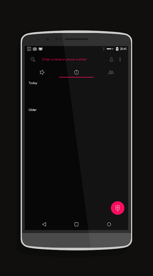 Pin Dark - CM13/CM12 Theme Screenshot 9