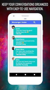 Messenger Home - Launcher with SMS Home Screen