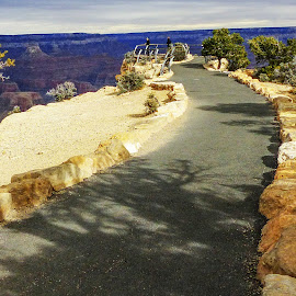 Grand View 3 by David Walters - Landscapes Travel ( nature, grand canyon national park, lumix fz200, landscape, senic, rocks )