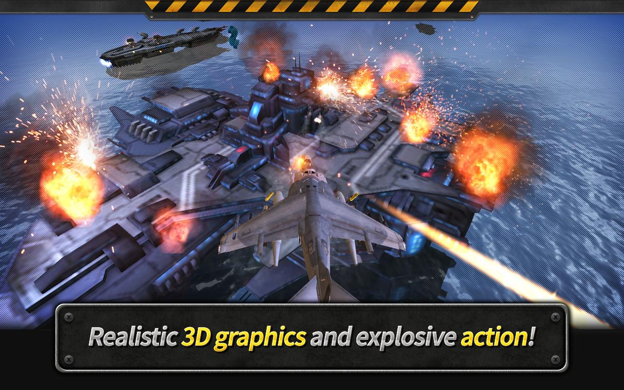 GUNSHIP BATTLE : Helicopter 3D Screenshot 2