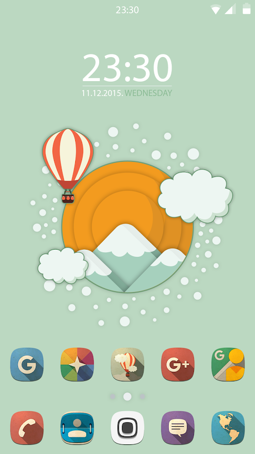Morning UI Icon Pack Screenshot 1