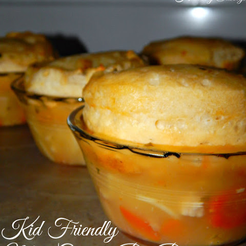 Easy Kid Friendly Mini Chicken Pot Pies