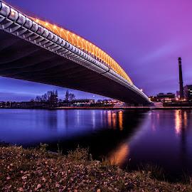 Troja Bridge in Sunshine by Kratochvíl Tomáš - Buildings & Architecture Bridges & Suspended Structures