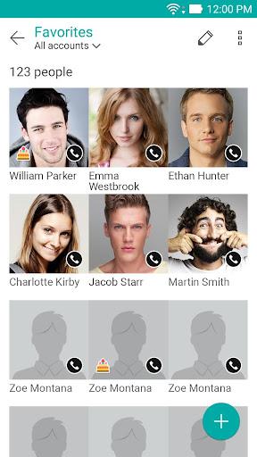 ZenUI Dialer & Contacts screenshot 1