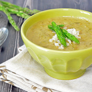 Asparagus Soup with Bacon