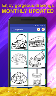 Happy birthday Coloring Pages - screenshot
