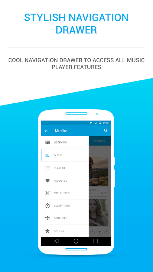 Muziko Music Player Screenshot 3