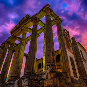 templo romano de Diana, Mérida by Roberto Gonzalo - Buildings & Architecture Statues & Monuments