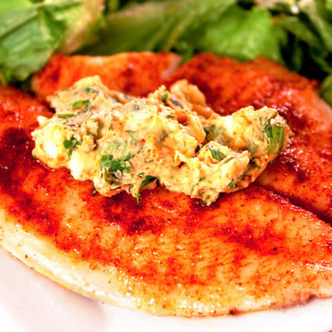 Tilapia with Cilantro-Lemon Butter