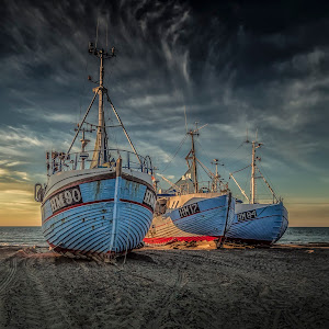 Thorup Strand - Three Boats (1 of 1).jpg