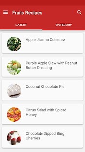 Fruit Recipes - screenshot