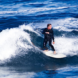 Surfing 1 by Mark Holden - Sports & Fitness Surfing
