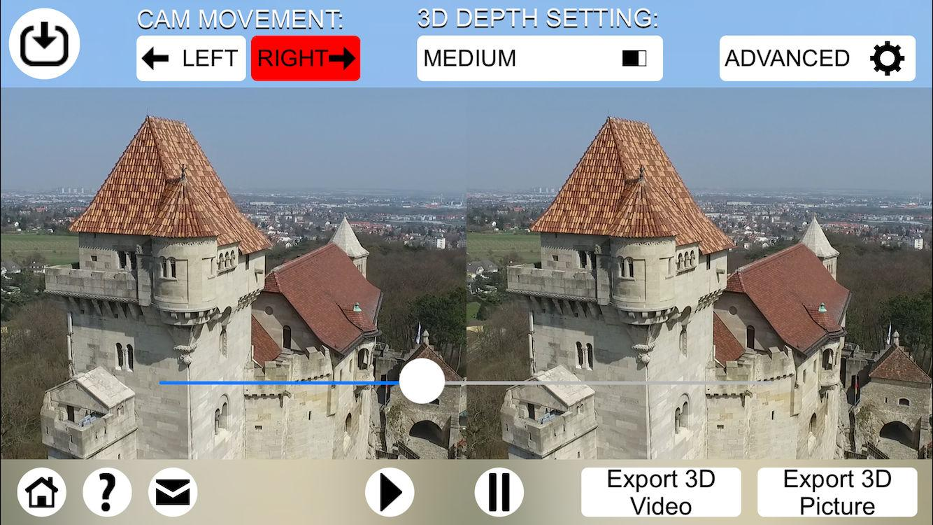 3D Video Converter - for DJI Screenshot 1