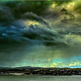 by Sandy Crowe - Landscapes Cloud Formations