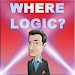 Where logic? Intellectual logic game. Icon