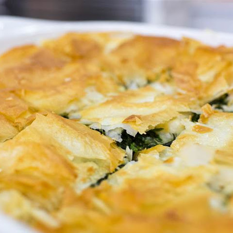 Maria Menounos's Spanakopita (Greek Spinach Pie)