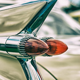 tail fin by Kevin Towler - Transportation Automobiles ( car, old, transport, automobile, american, vehicle, transportation, classic )