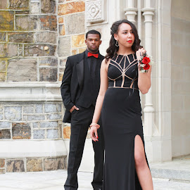 Maybe by Neicey Wynn - People Couples ( fashion, prom, architecture, serious, people )