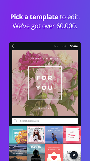 Canva – Create beautiful designs anywhere, faster. screenshot 5