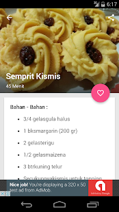 Resep Kue Kering - screenshot