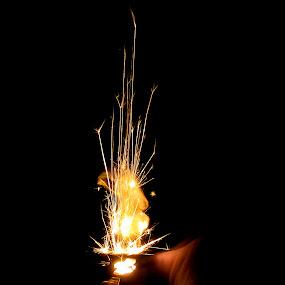Firestorm by Yi Xuan Lee - Abstract Fire & Fireworks ( striking, flames, sparks, lighter, fire )
