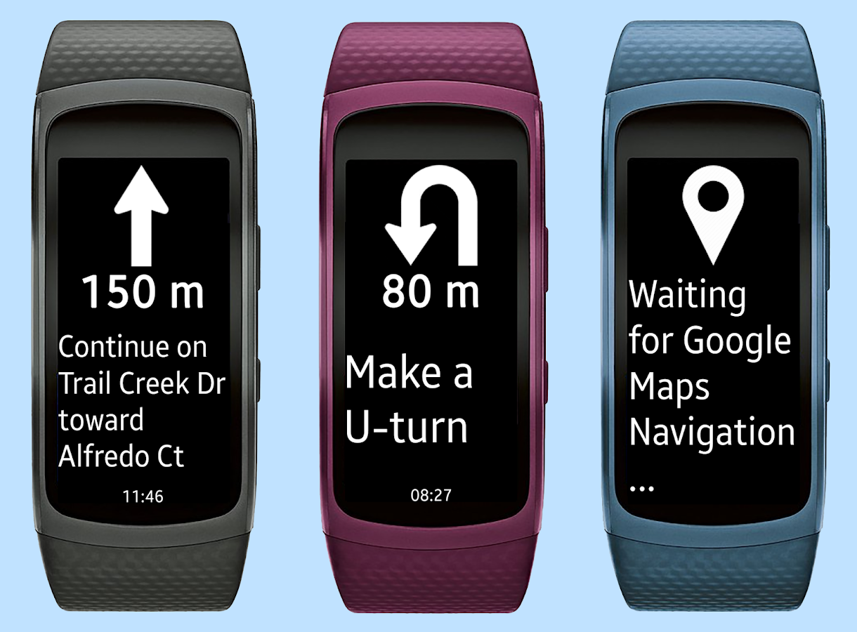 Gear Fit2 Navigation Screenshot 2