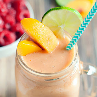 Raspberry Peach Orange Smoothie Recipes