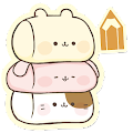 Free Download Sticky Notes Cute Characters APK for Samsung