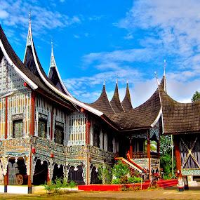 Wooden Castle by Mohd Khairil Hisham Mohd Ashaari - Buildings & Architecture Public & Historical ( castle, culture, historical, wood, heritage, architecture,  )