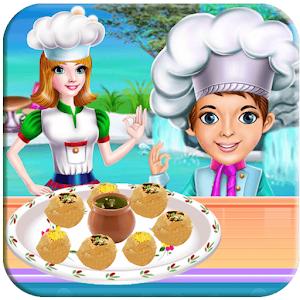 Panipuri Maker - Master Chef Cooking Golgappa For PC (Windows & MAC)