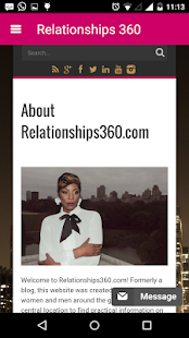 Relationships360 - screenshot