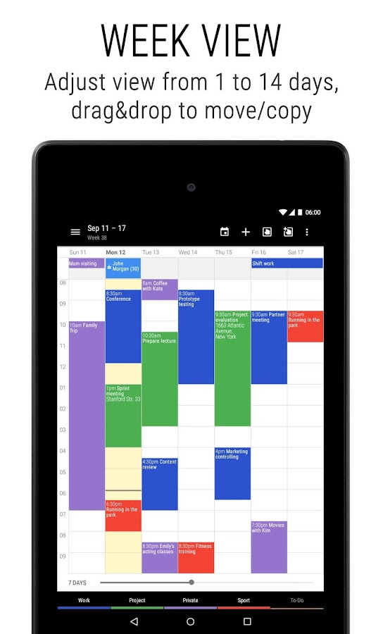 Business Calendar 2 Screenshot 17