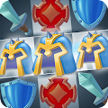 Kingdom Smash Match 3 APK for Bluestacks