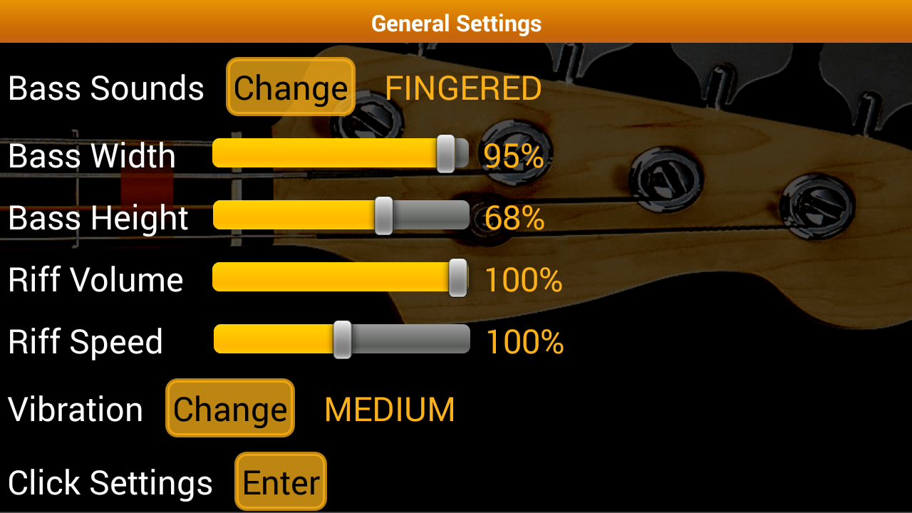 Bass Guitar Tutor Pro Screenshot 7