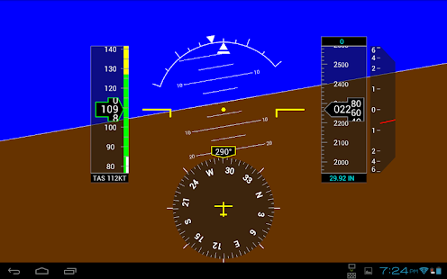 PFD Instrument - screenshot