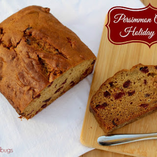 Persimmon Cranberry Holiday Bread 0