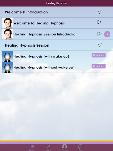 Healing Hypnosis Meditation - screenshot