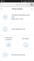 Screenshot of RingCentral Office@Hand