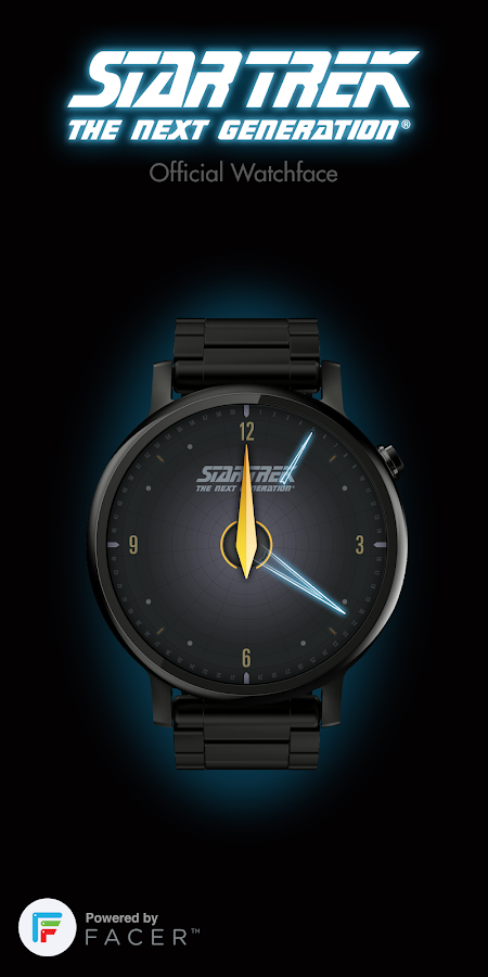 Star Trek official watchface 1 Screenshot 0