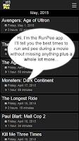 Screenshot of RunPee.