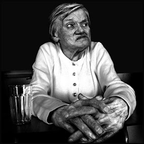 That Horror called Alzheimer by Fernand De Canne - People Portraits of Men ( faces, people )