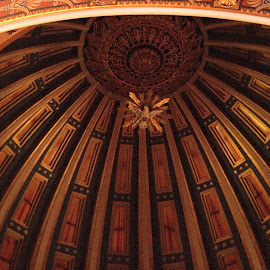 Ceiling by Brenda Shoemake - Buildings & Architecture Architectural Detail