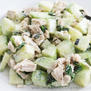 Clean Eating Recipe – Cucumber and Chicken Salad