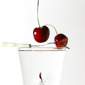 Cherry by Ivan Vukelic - Artistic Objects Other Objects