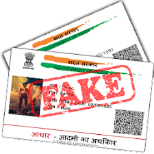 Fake Aadhar Card for India