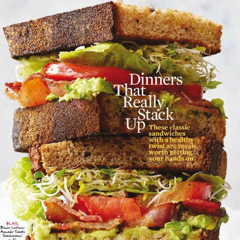 BLATs (Bacon-Lettuce-Avocado-Tomato Sandwiches